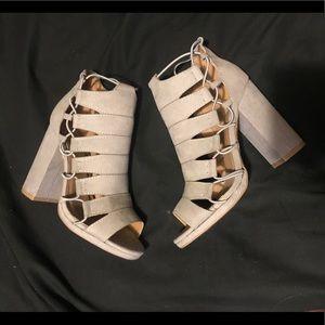 Qupid new chunky heels